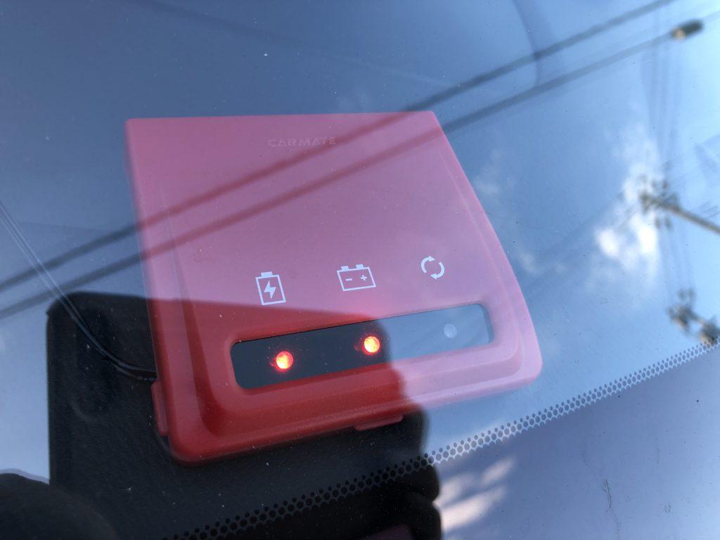 カーメイト メモリーキーパー バッテリー交換 一家に一台あると便利 OBDIIコネクター給電仕様 SA202
